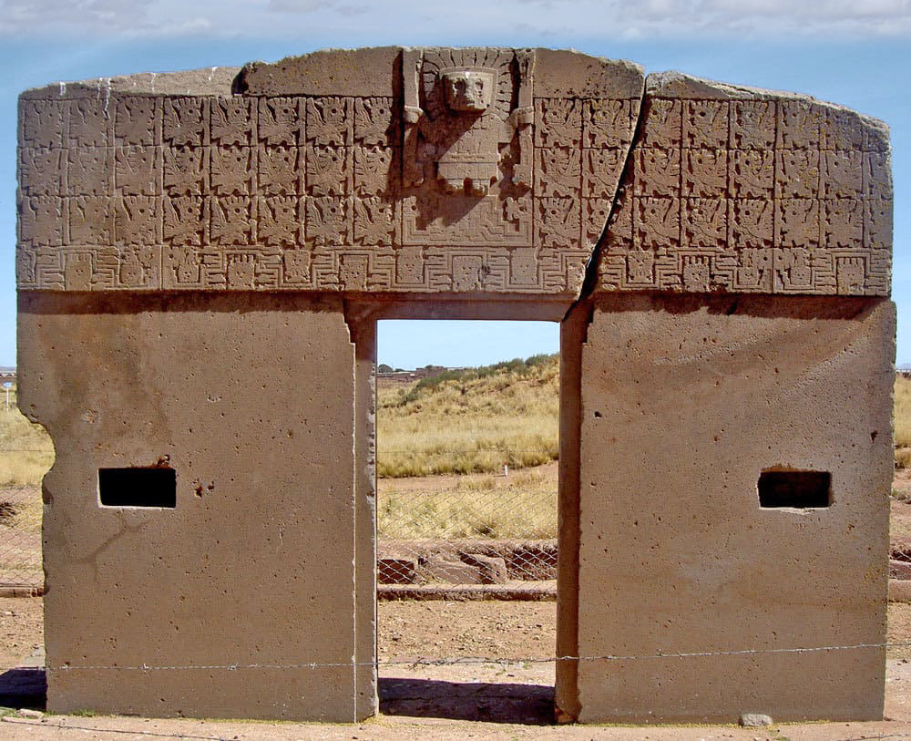 puertadelsoltiwanakubolivia